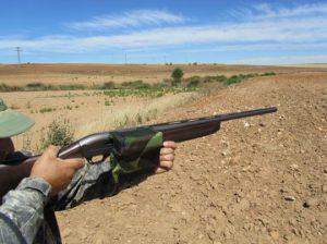 Haciendo uso del caza vainas Recovain